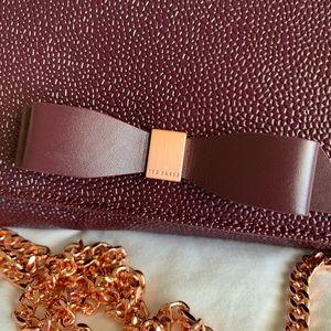 Mini clutch/ cross over shoulder bag